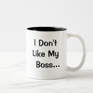 No tengo gusto de mi amor de Boss I mi Boss Taza De Café