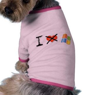 No tengo gusto de triunfo camiseta con mangas para perro