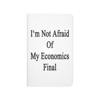 No tengo miedo de mi final de la economía cuadernos