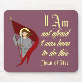 No tengo miedo - Juana de Arco Alfombrilla De Ratón