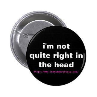 no tengo muy razón en el botón principal pin redondo de 2 pulgadas