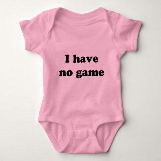 No tengo ningún juego body para bebé