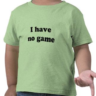 No tengo ningún juego camisetas