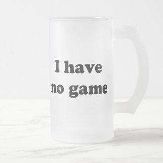 No tengo ningún juego taza cristal mate