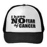 No tengo ningún miedo del cáncer 2 gorro de camionero