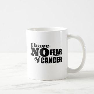 No tengo ningún miedo del cáncer taza