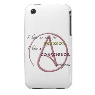 No tengo ninguna necesidad de la religión con iPhone 3 Case-Mate fundas
