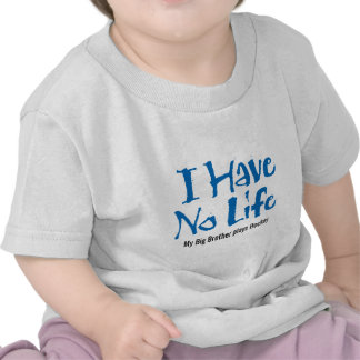 No tengo ninguna vida (azul) camiseta