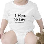 No tengo ninguna vida (el negro) trajes de bebé