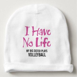 No tengo ninguna vida (el voleibol) gorrito para bebe