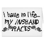 No tengo ninguna vida, mis razas del marido tarjetón