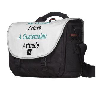 No tengo una actitud que tengo un Attit Bolsas De Portátil