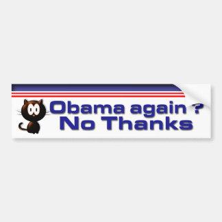 No Thanks Car Bumper Sticker