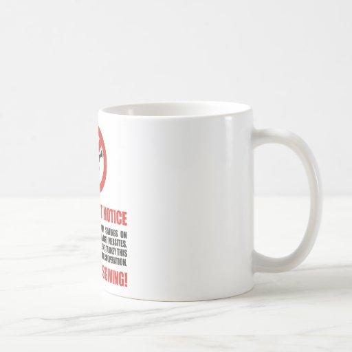 No Thanksgiving Turkey Classic White Coffee Mug