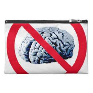 No Thinking Allowed Travel Accessories Bag