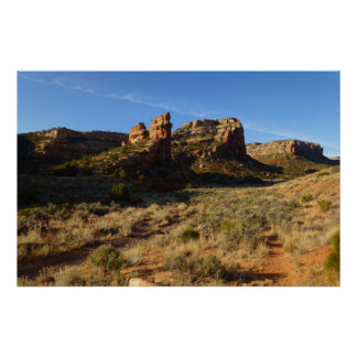 No Thoroughfare Canyon Colorado National Monument Poster