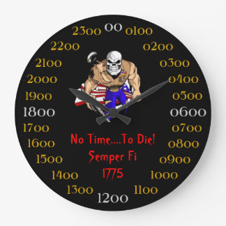 No Time To Die 1775 Wall Clock