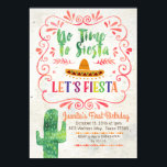 """No Time to Siesta, Let&#39;s Fiesta Invitation<br><div class=""""desc"""">No Time to Siesta,  Let&#39;s Fiesta Birthday Invitation    Wording can be customized into any occasion.</div>"""