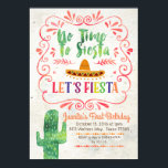 "No Time to Siesta, Let&#39;s Fiesta Invitation<br><div class=""desc"">No Time to Siesta,  Let&#39;s Fiesta Birthday Invitation    Wording can be customized into any occasion.</div>"