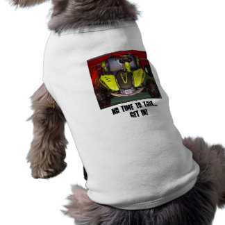 No time to talk doggie tee