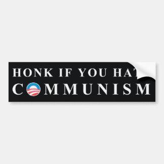 No to Communism Bumper Stickers