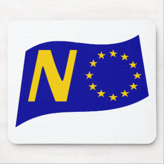 No To European Union Mouse Pad