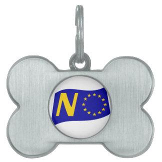 No To European Union Pet ID Tag