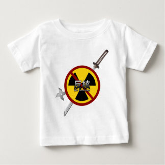 No to Nuclear Japanese Anti-Nuclear Power Campaign Baby T-Shirt