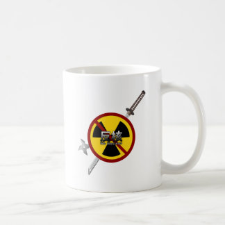 No to Nuclear Japanese Anti-Nuclear Power Campaign Coffee Mugs