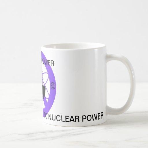 """NO TO NUCLEAR POWER""* COFFEE MUGS"