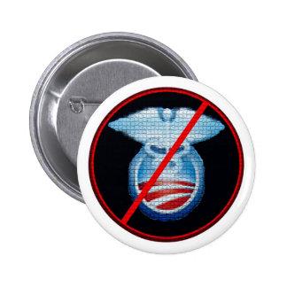 No to Obamacare Button