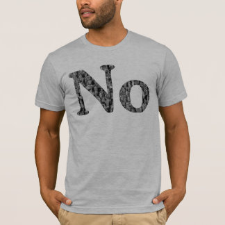 No to Politics - Political Figure Collage Shirt