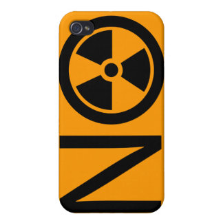 No to Radiation and Nuclear Power Case For iPhone 4
