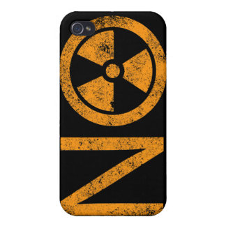 No to Radiation and Nuclear Power Cases For iPhone 4