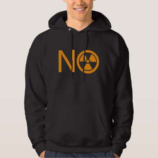 No to Radiation and Nuclear Power Hoodies