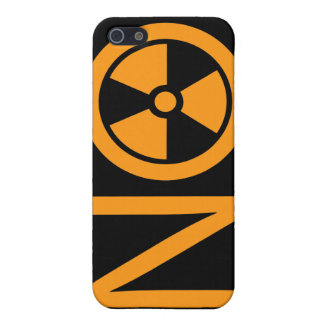 No to Radiation and Nuclear Power iPhone 5 Case