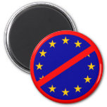 No to the EU Fridge Magnets