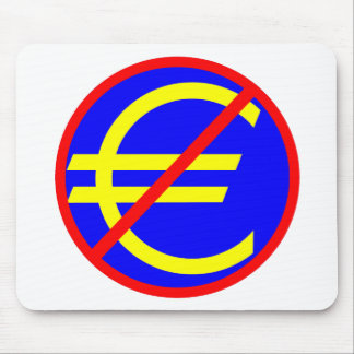 No to the Euro Mouse Pad