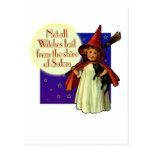 No todas las brujas… postales