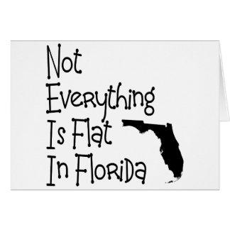 No todo en la Florida es plano Felicitaciones
