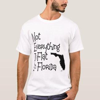 No todo en la Florida es plano Playera