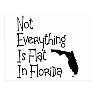 No todo en la Florida es plano Tarjeta Postal