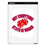 ¡No todo permanece en Vegas! iPad 3 Skin