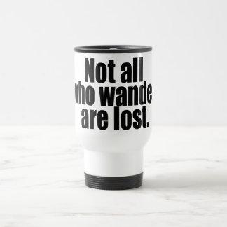 No todo que Wander se pierde redacta Tazas De Café