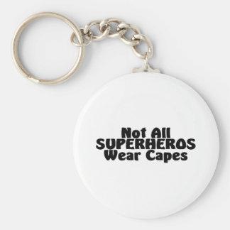No todos los cabos del desgaste de SUPERHEROS Llaveros Personalizados