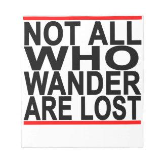 No todos que Wander es la camiseta perdida .png Blocs