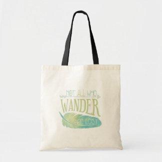 No todos que Wander se pierde Bolsa Tela Barata