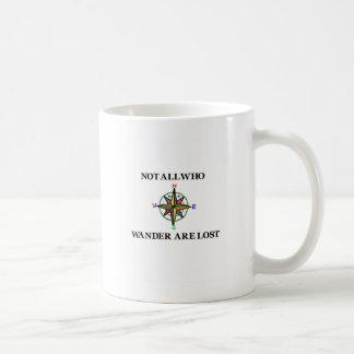 No todos que Wander se pierde Tazas De Café