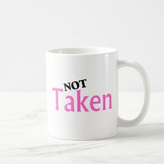 No tomado taza clásica