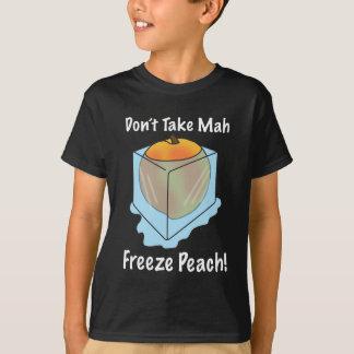 ¡No tome el melocotón del helada del Mah! Camisas